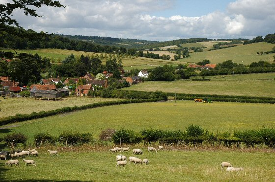 View of Fingest Valley